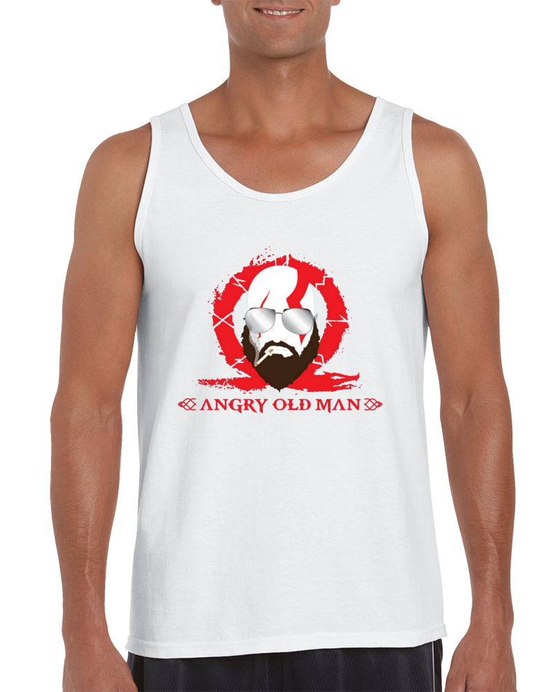 Angry Old Man Tank Top