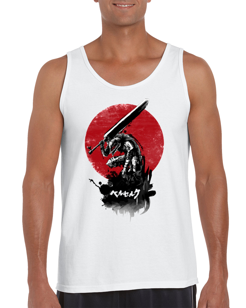 Red Sun Swordsman Tank Top