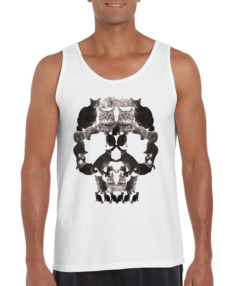 Cat Skull Tank Top