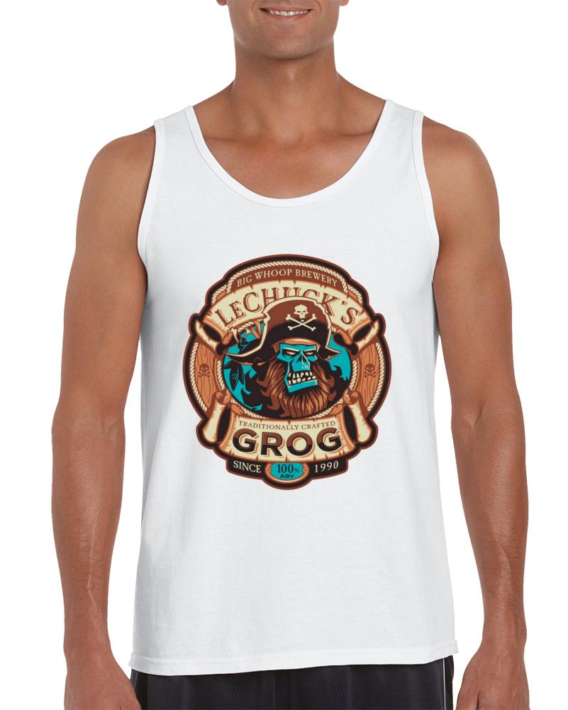 Ghost Pirate Grog Tank Top