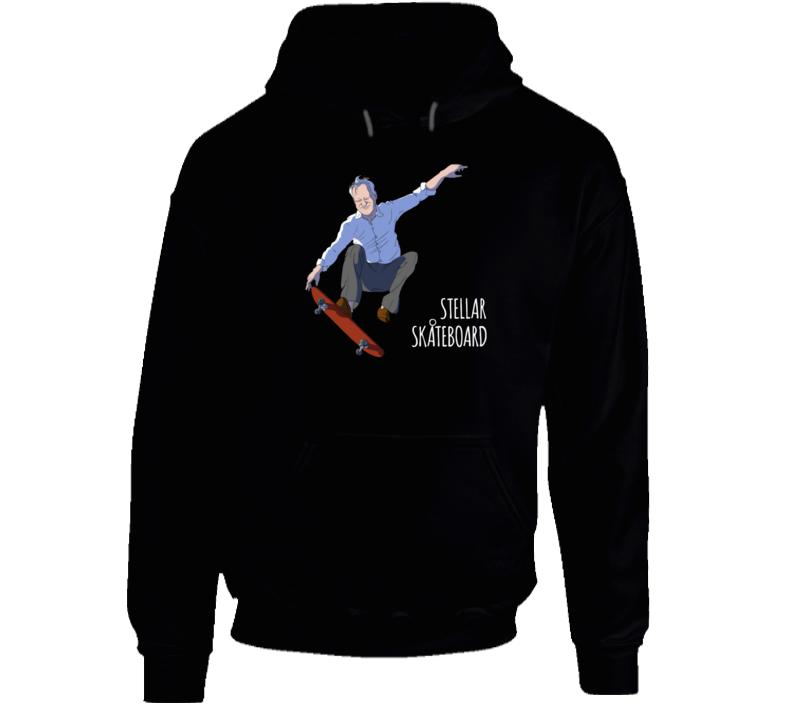 Stellar Skateboard! Hoodie