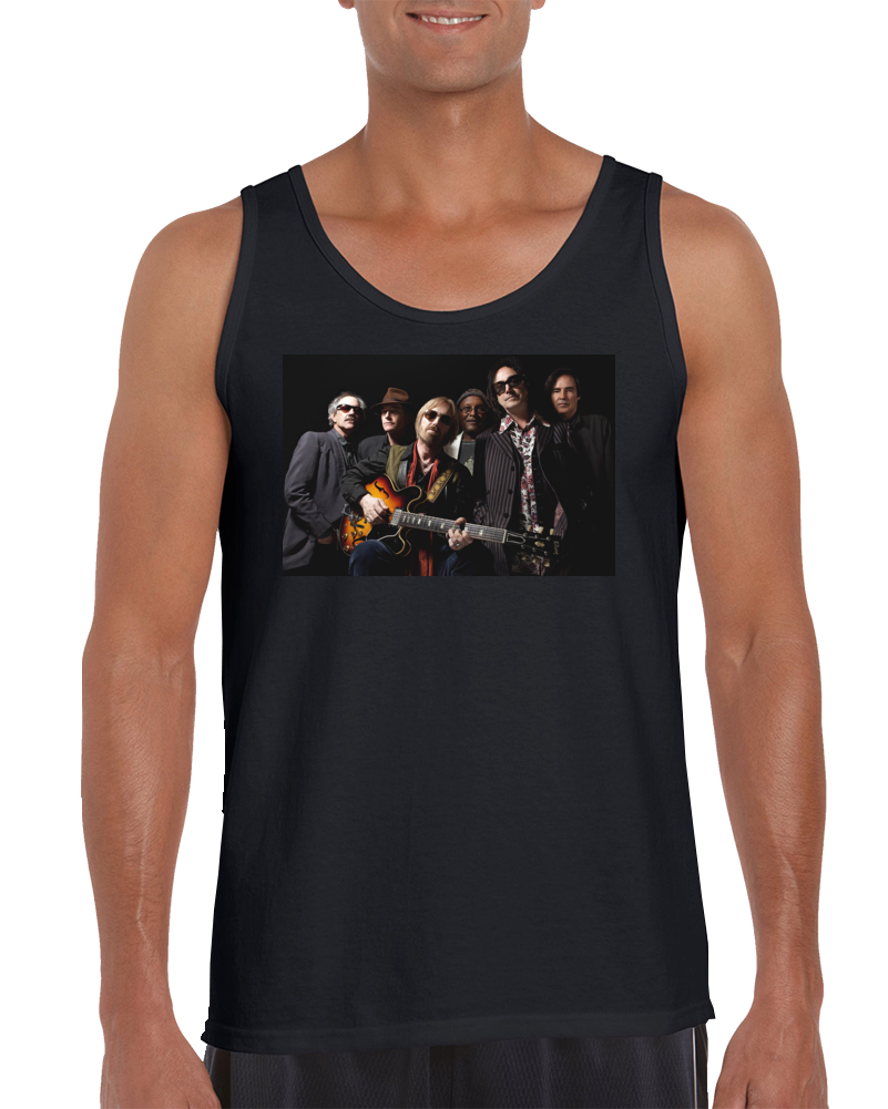 Tom Petty And The Heartbreakers Classic Rock Band Tank Top