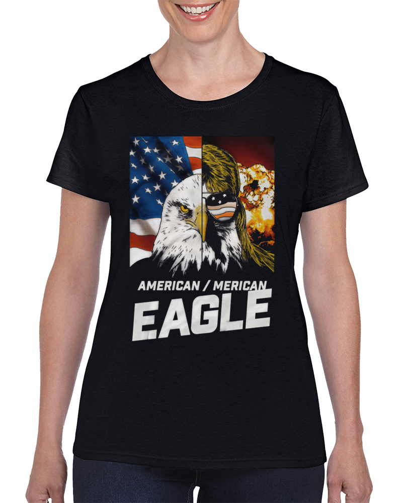 American Eagle. Merican Eagle. Ladies T Shirt