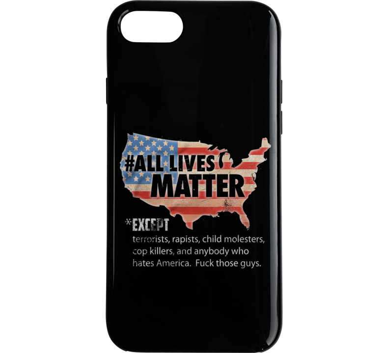 All Lives Matter - Raw Phone Case