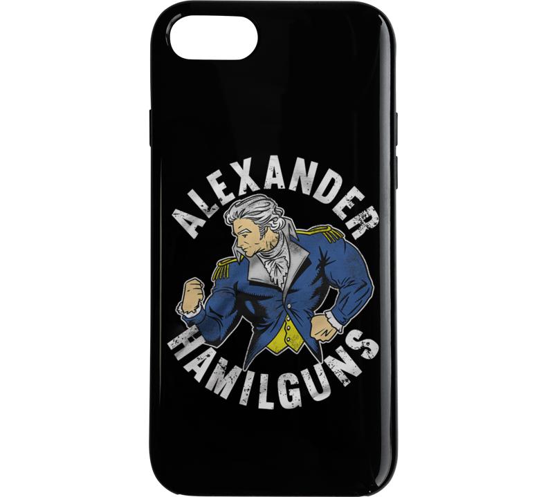 Alexander Hamilguns Phone Case