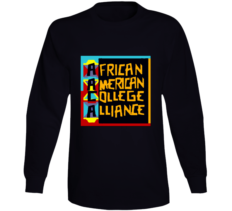 Aaca Luke Cage African American College Alliance Long Sleeve
