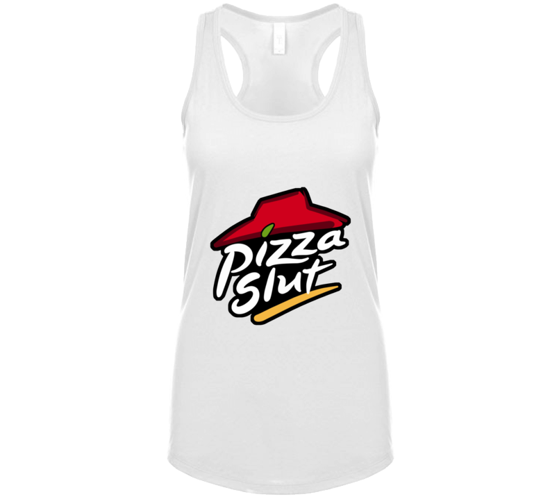 Pizza Slut Ladies Tank Top
