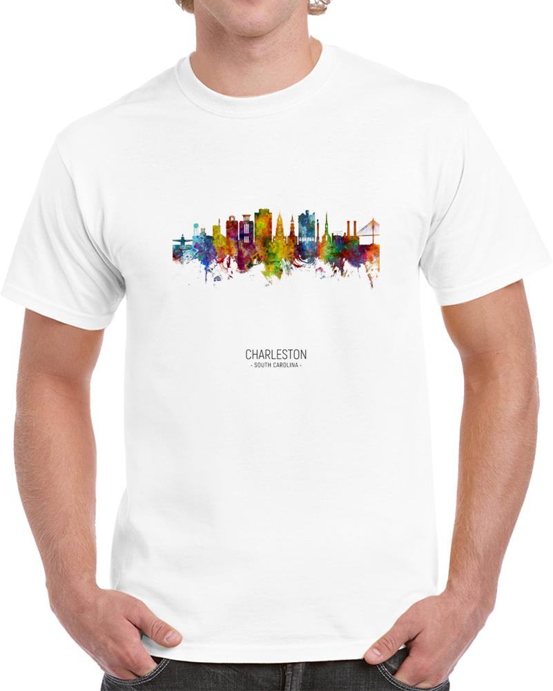 Charleston Rainbow Skyline T Shirt
