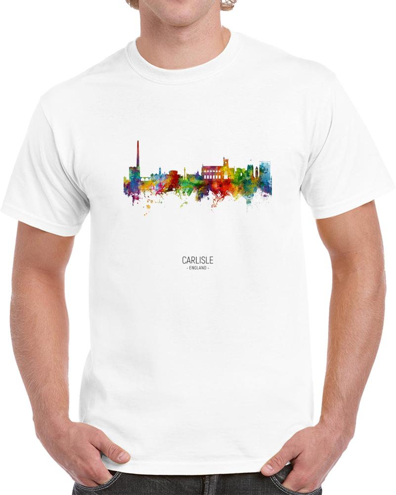 Carlisle England Rainbow Skyline T Shirt