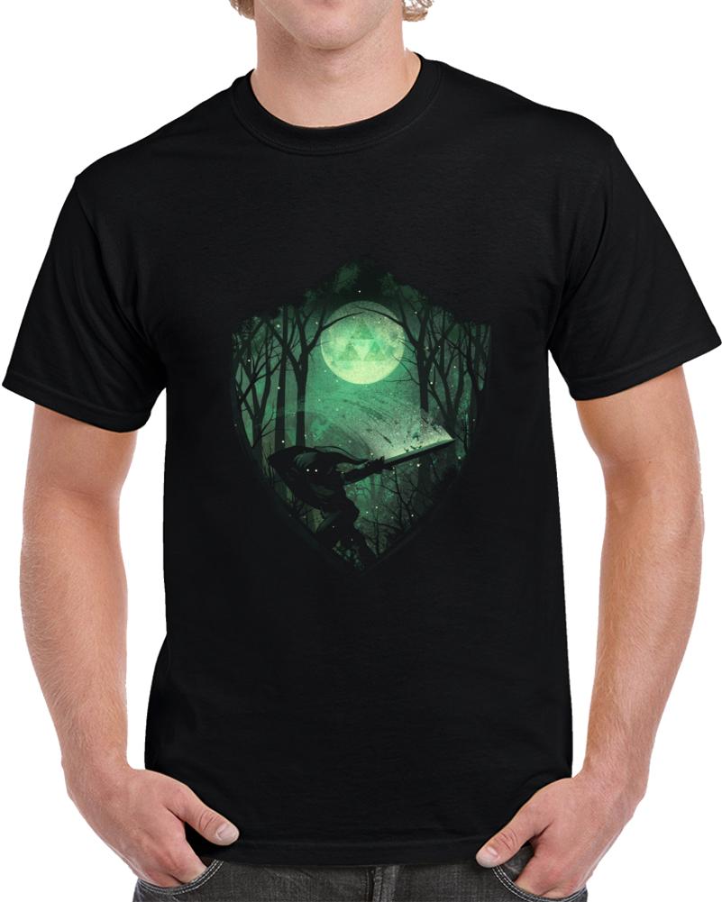 Master Sword Negative Space T Shirt