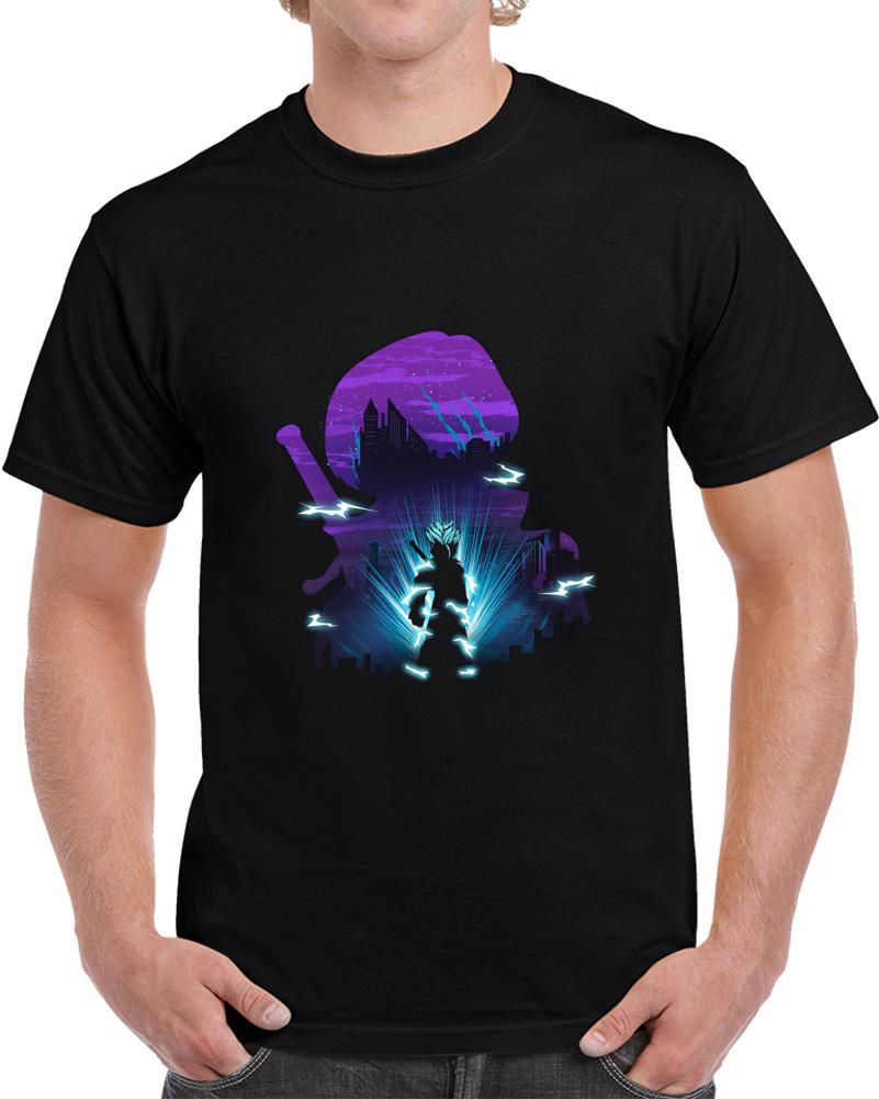 Future Trunks Negative Space T Shirt