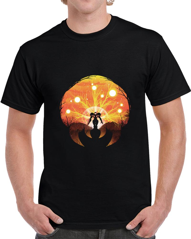 Super Metroid Negative Space T Shirt