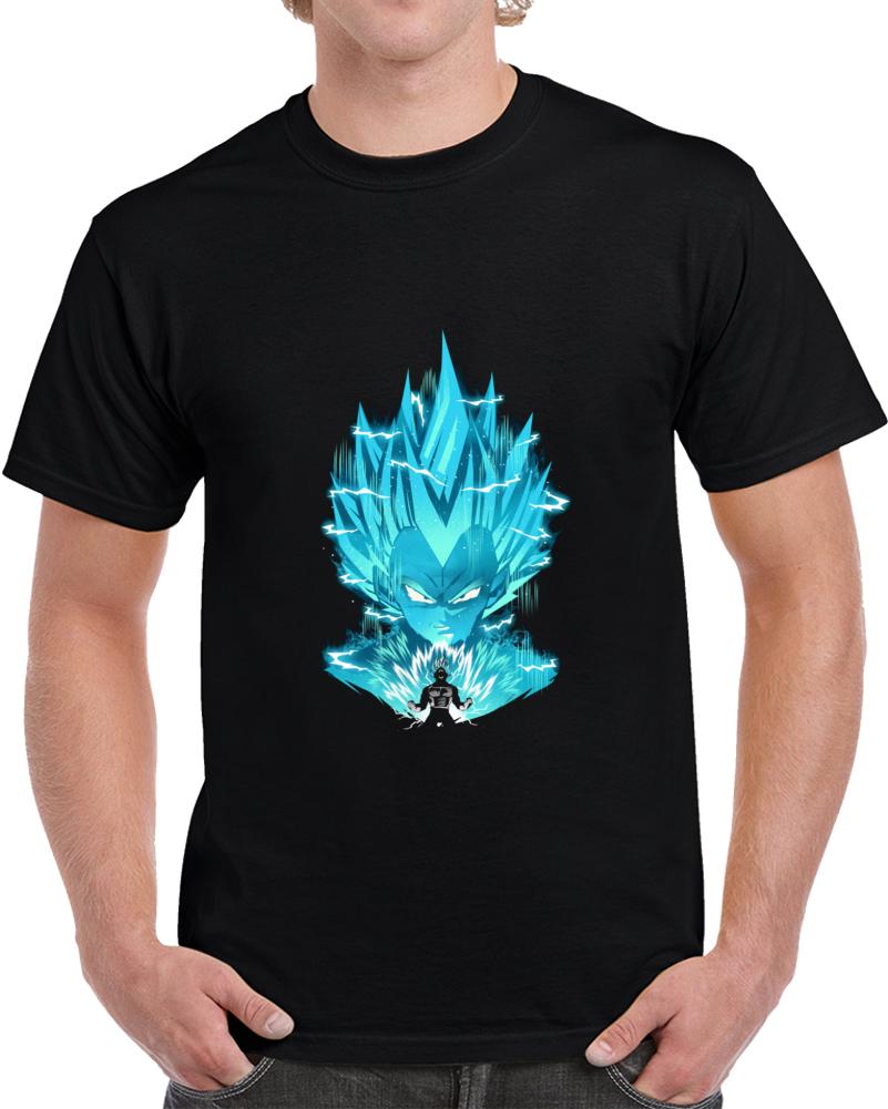 Super Saiyan Blue Negative Space T Shirt