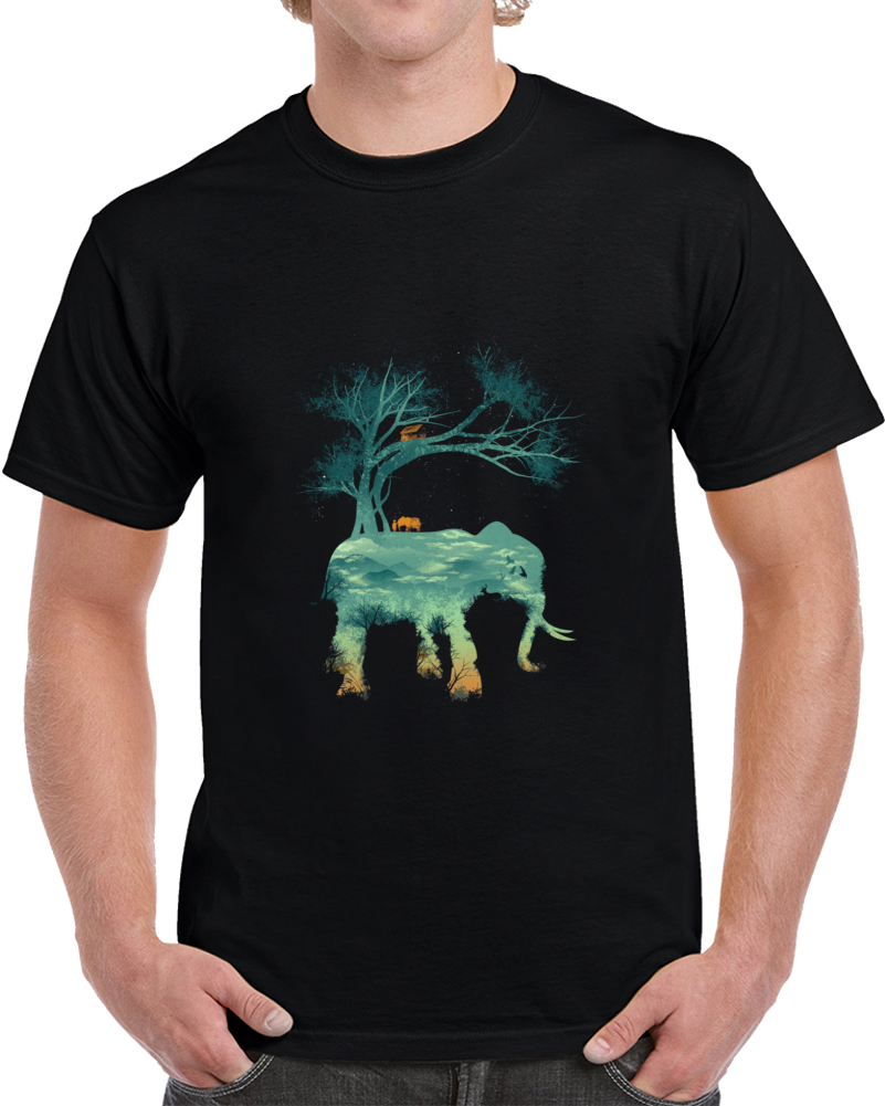 The Tree Of Life Negative Space T Shirt