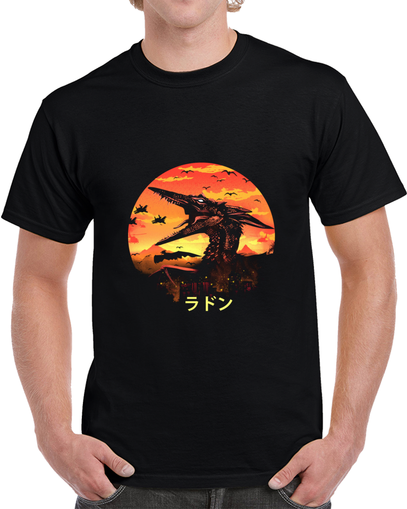 The Pteranodon Negative Space T Shirt