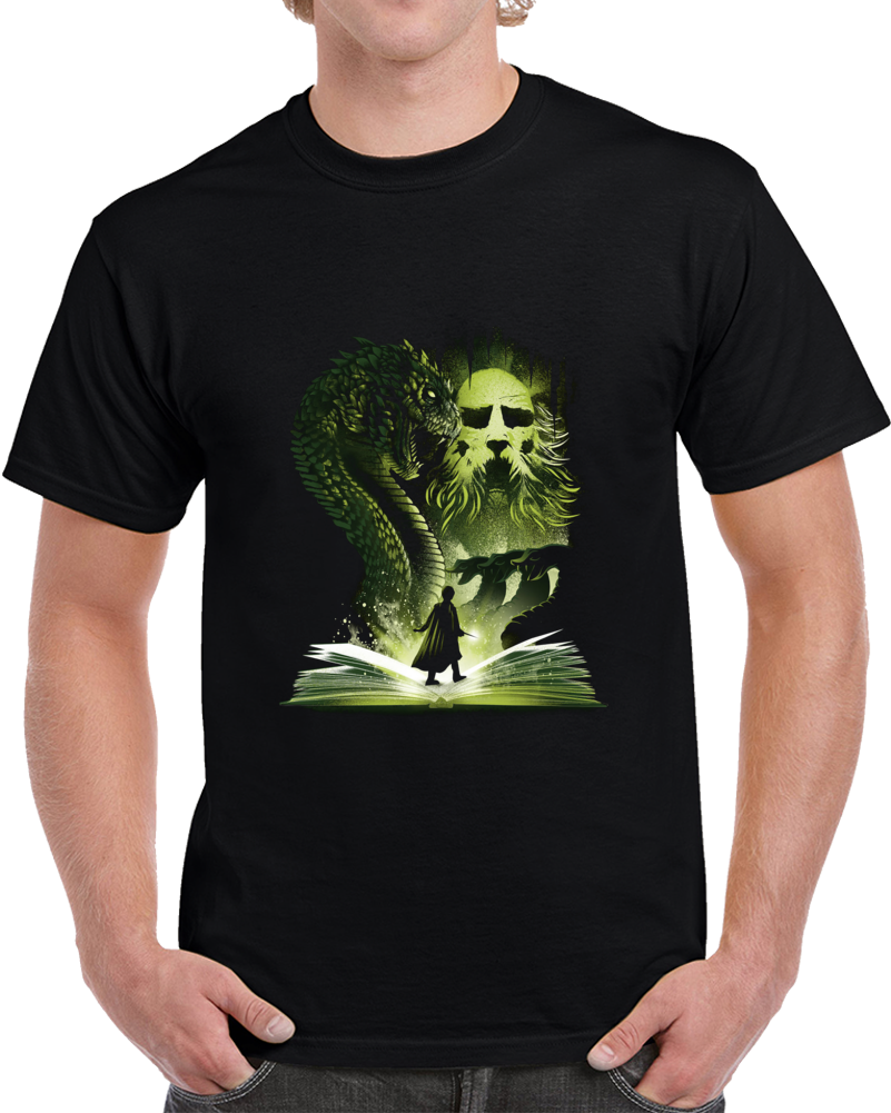 The 2nd Book Of Magic Negative Space T Shirt