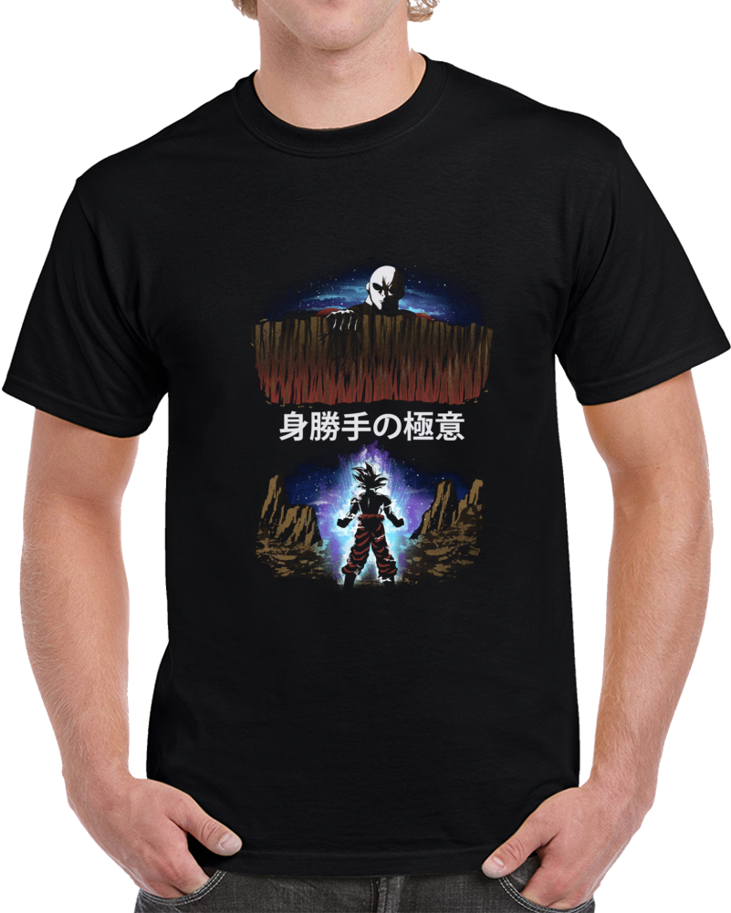 Ultra Instinct Negative Space T Shirt