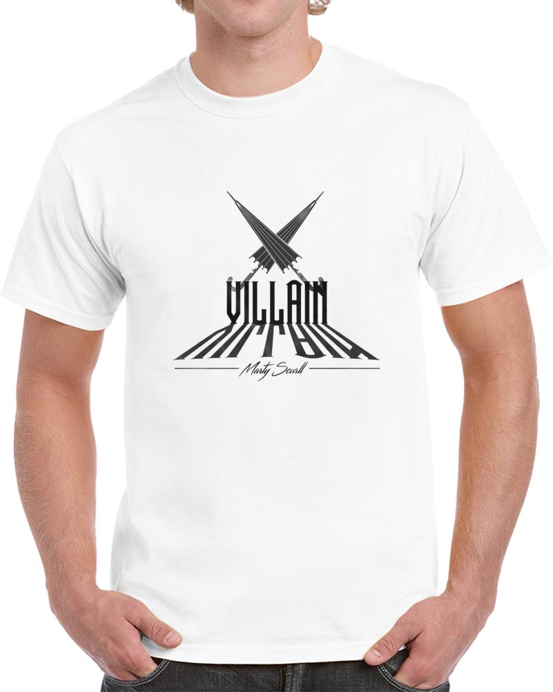Villain Brand Marty Scurll T Shirt