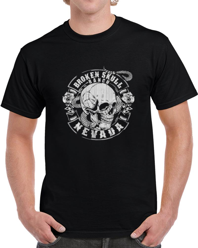 Broken Skull Ranch Steve Austin T Shirt