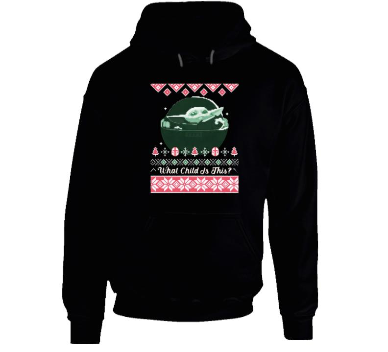 Baby Yoda Ugly Christmas Sweater Hoodie