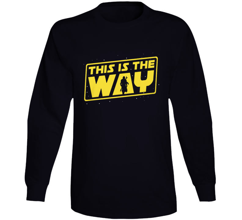 This Is The Way The Mandalorian Long Sleeve