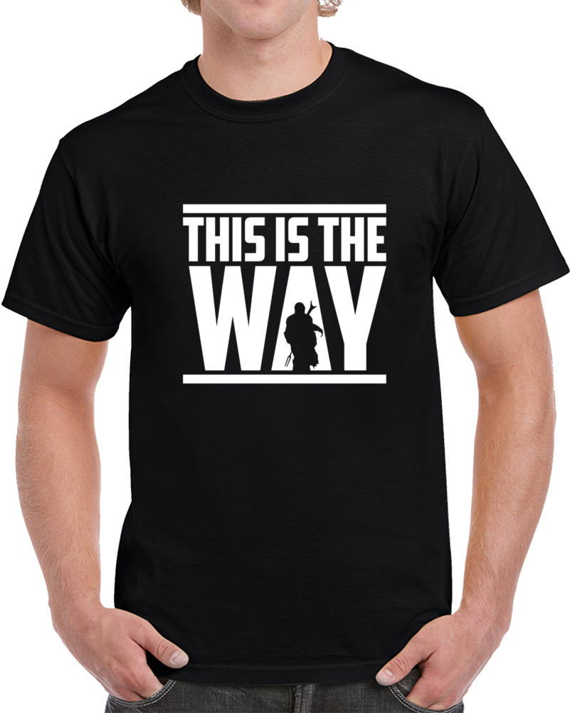 This Is The Way The Mandalorian T Shirt
