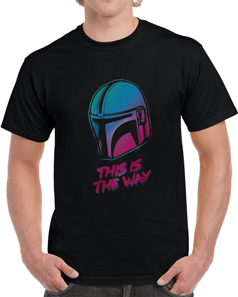 This Is The Way The Mandalorian Vintage T Shirt
