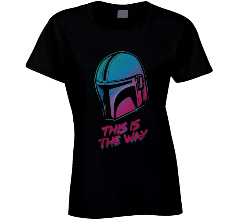 This Is The Way The Mandalorian Vintage Ladies T Shirt
