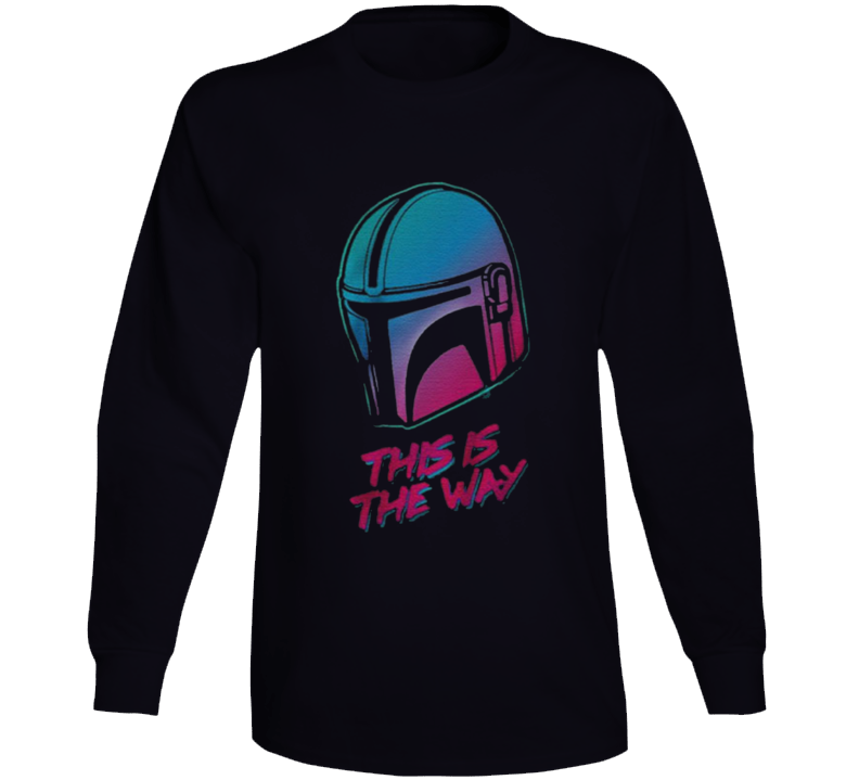 This Is The Way The Mandalorian Vintage Long Sleeve
