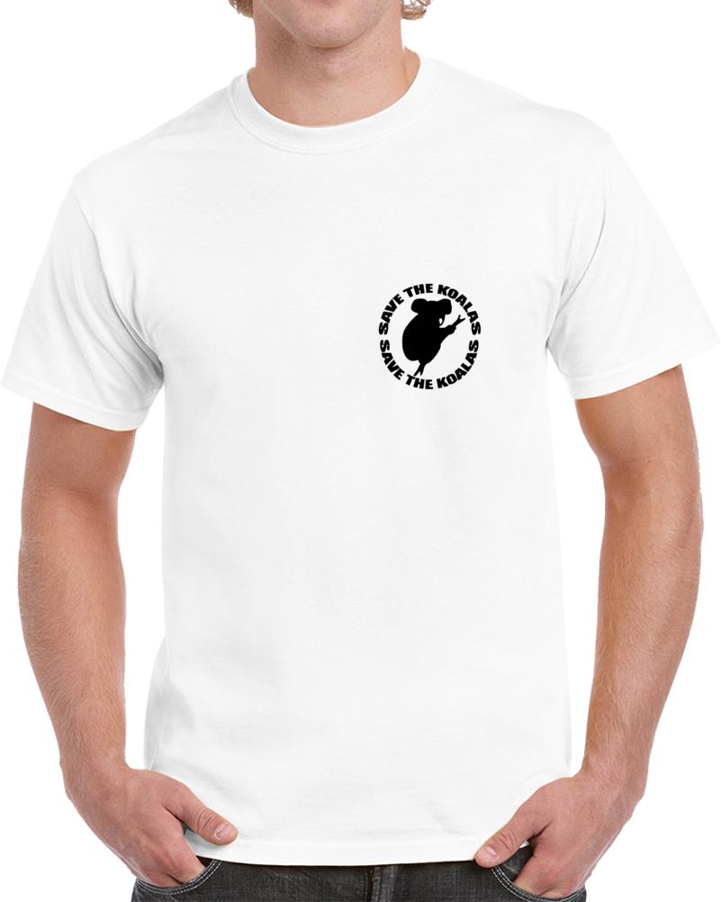 Save The Koalas T Shirt