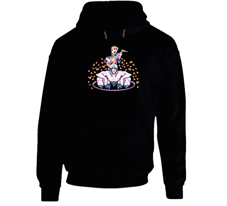 Toss A Coin To Your Witcher Geralt Bath Hoodie