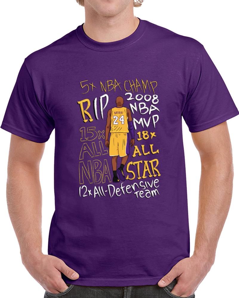 Kobe Bryant Rip T Shirt