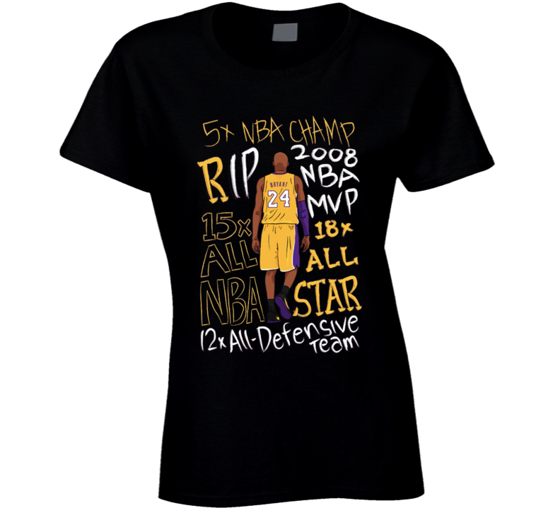 Kobe Rip Ladies T Shirt