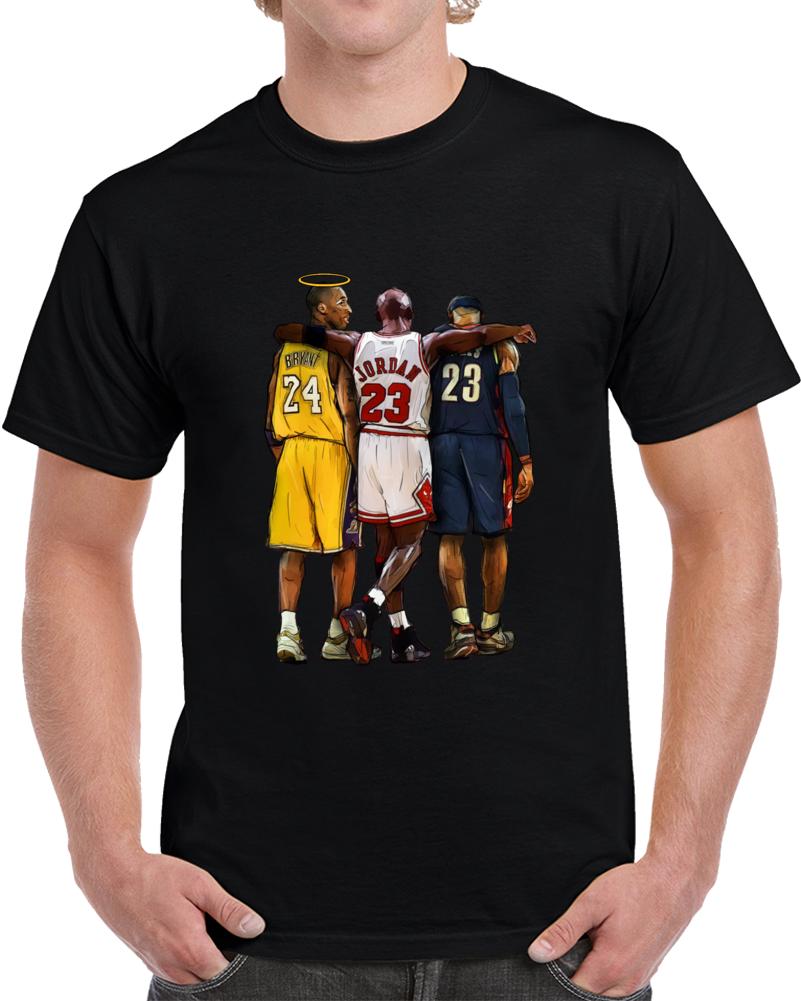 Kobe Bryant Halo Rip T Shirt