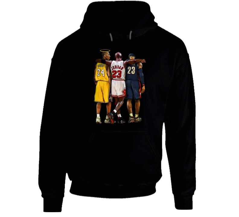 Kobe Bryant Halo Rip Hoodie