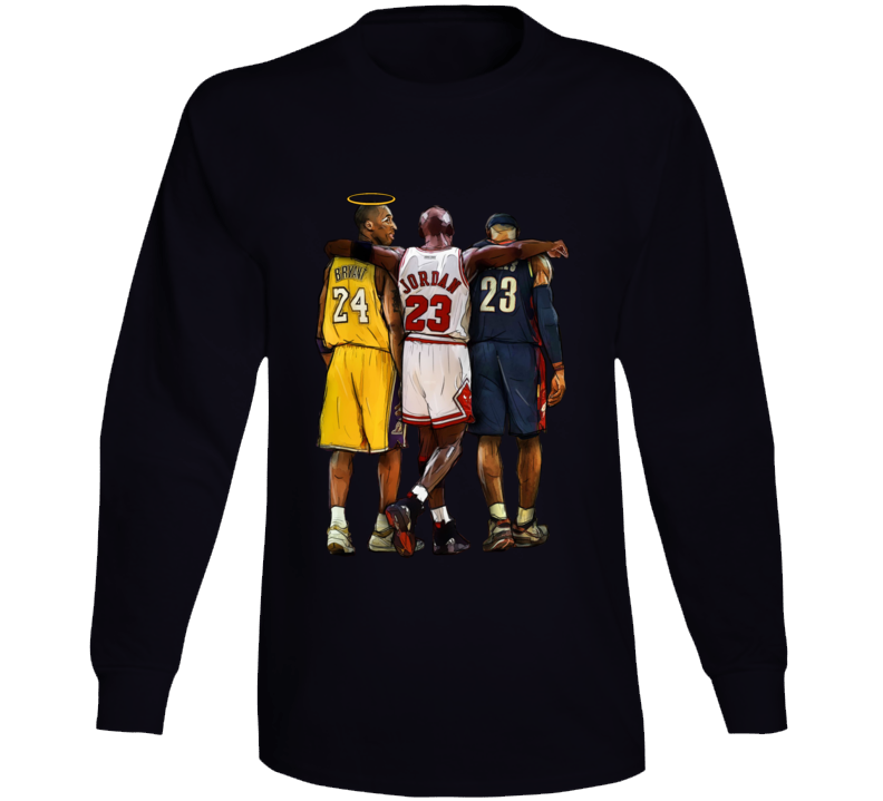 Kobe Bryant Halo Rip Long Sleeve