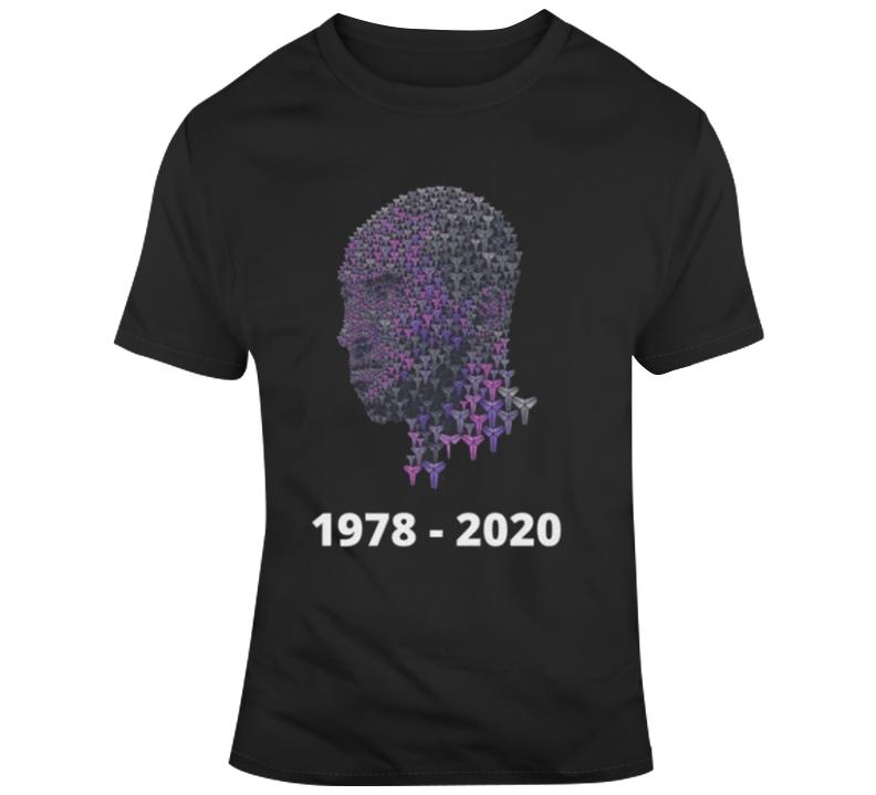 Kobe Bryant Rip - 1978 - 2020 T Shirt