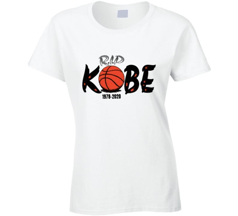 Rip Kobe Shirt 1978-2020 Copy Ladies T Shirt