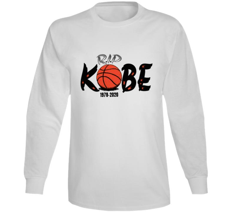 Rip Kobe Shirt 1978-2020 Copy Long Sleeve