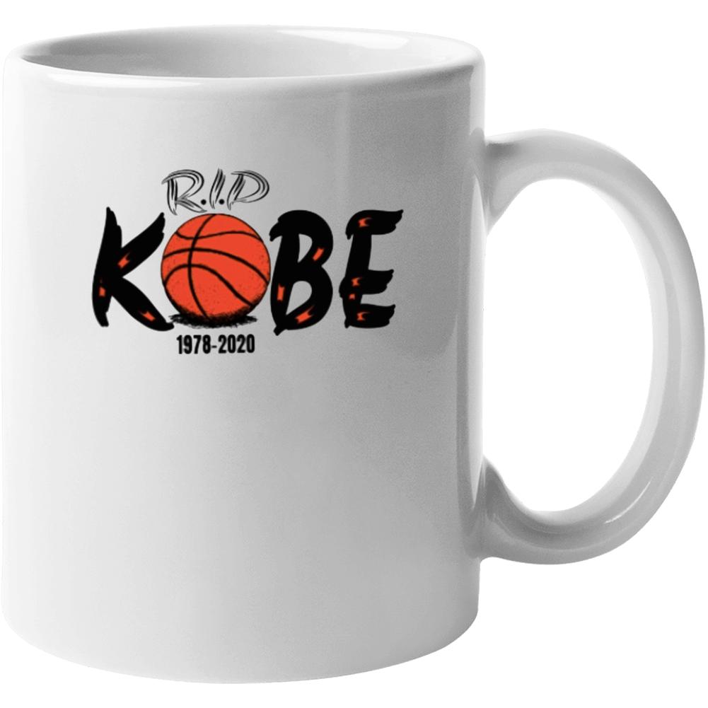 Rip Kobe Shirt 1978-2020 Copy Mug