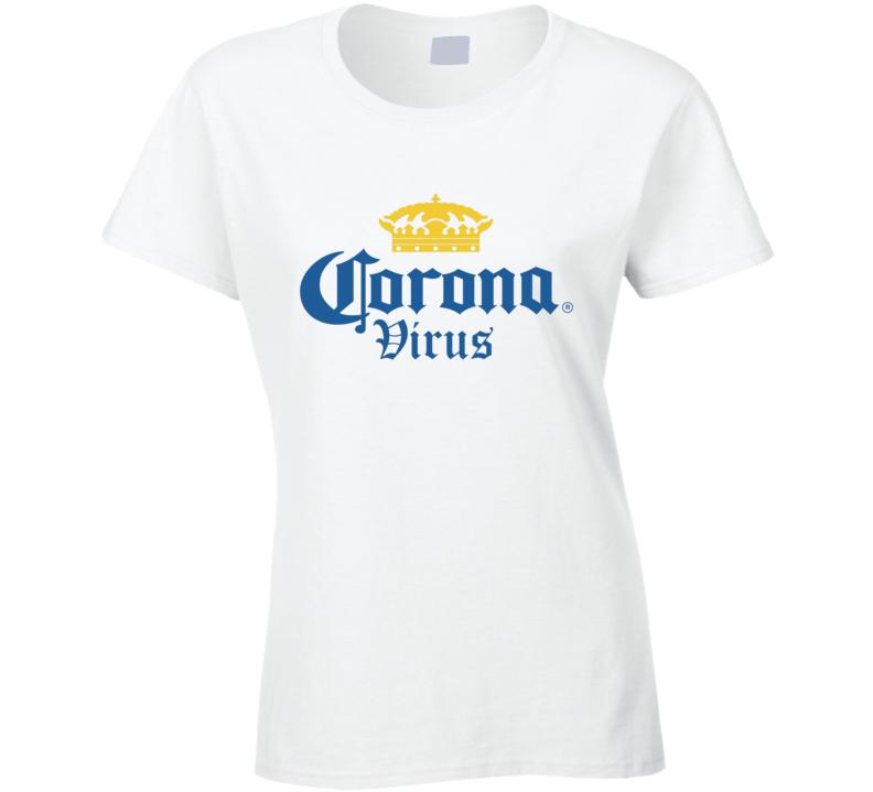 Corona Virus Ladies T Shirt