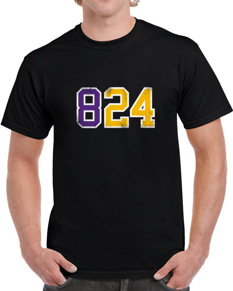 Mamba 824 Kobe Bryant T Shirt