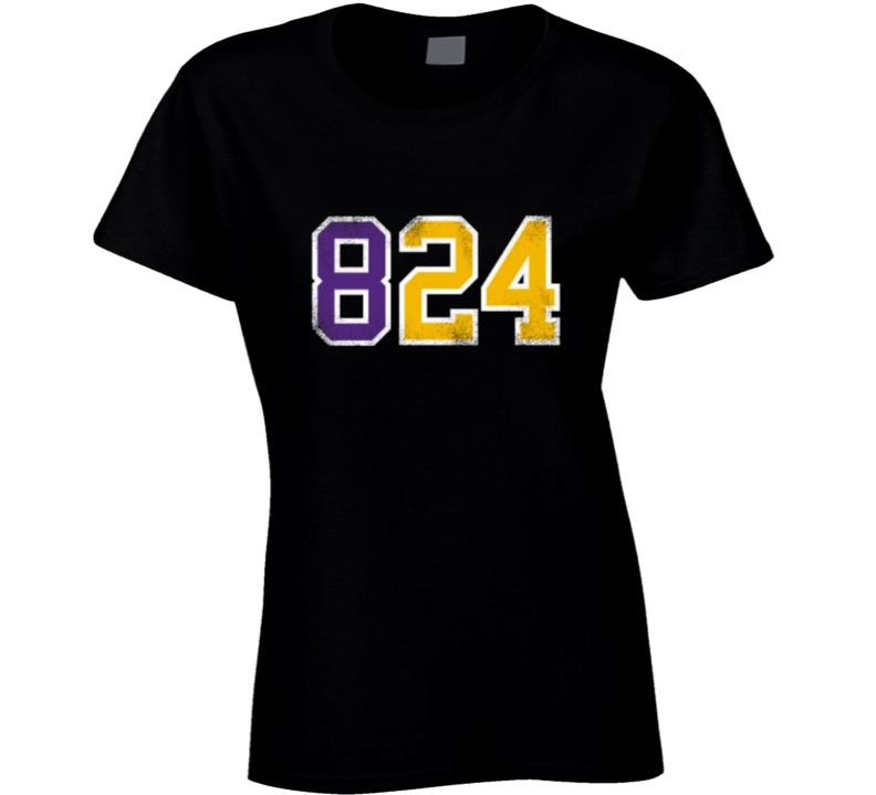 Mamba 824 Kobe Bryant Ladies T Shirt