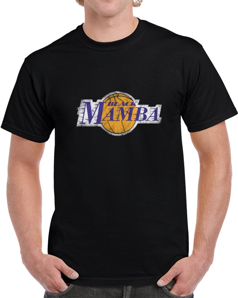 Vintage Kobe Bryant Black Mamba T Shirt