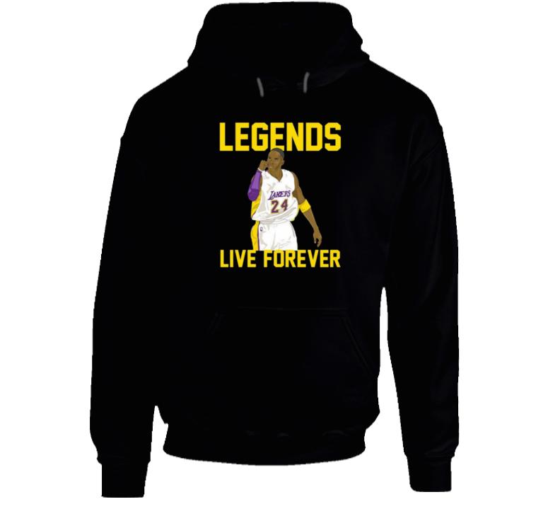 Kobe Bryant Legends Live Forever Hoodie
