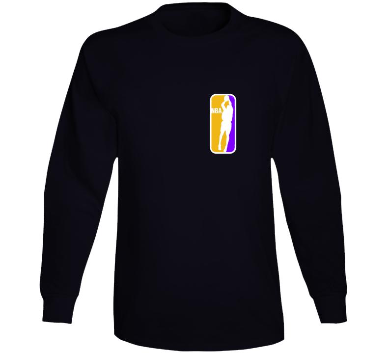 Kobe Black Momba Nba Logo Long Sleeve