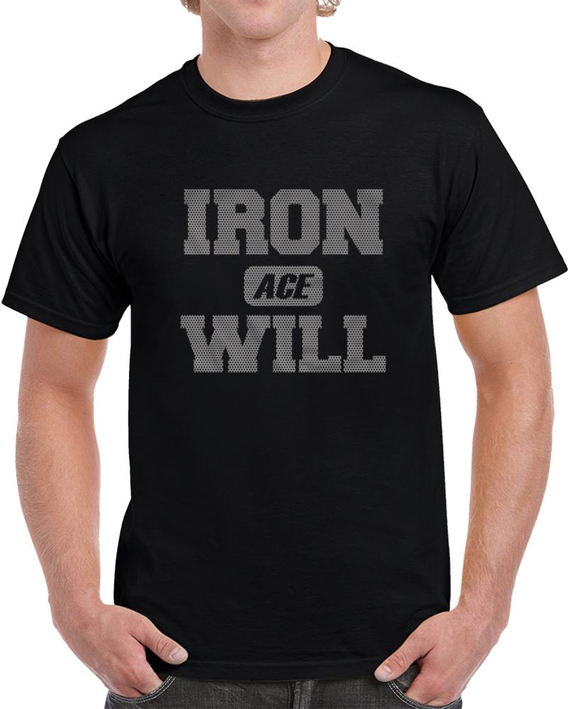 Hiroshi Tanahashi - Iron Will T Shirt