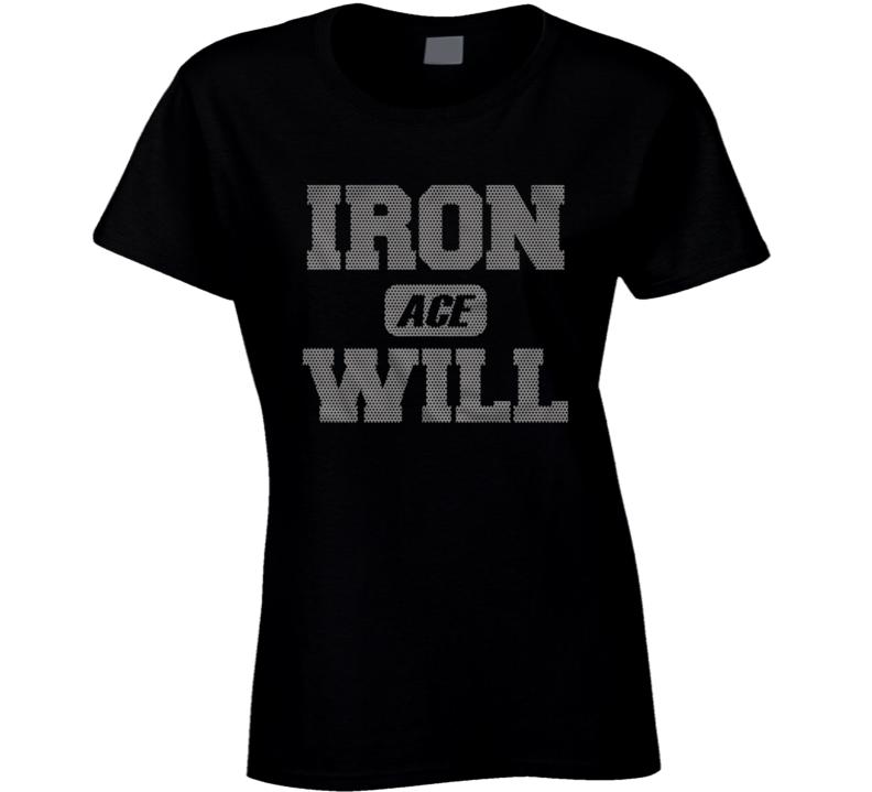 Hiroshi Tanahashi - Iron Will Ladies T Shirt