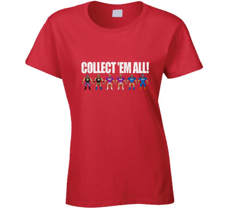 Major Jigs Collect Em All Ladies T Shirt