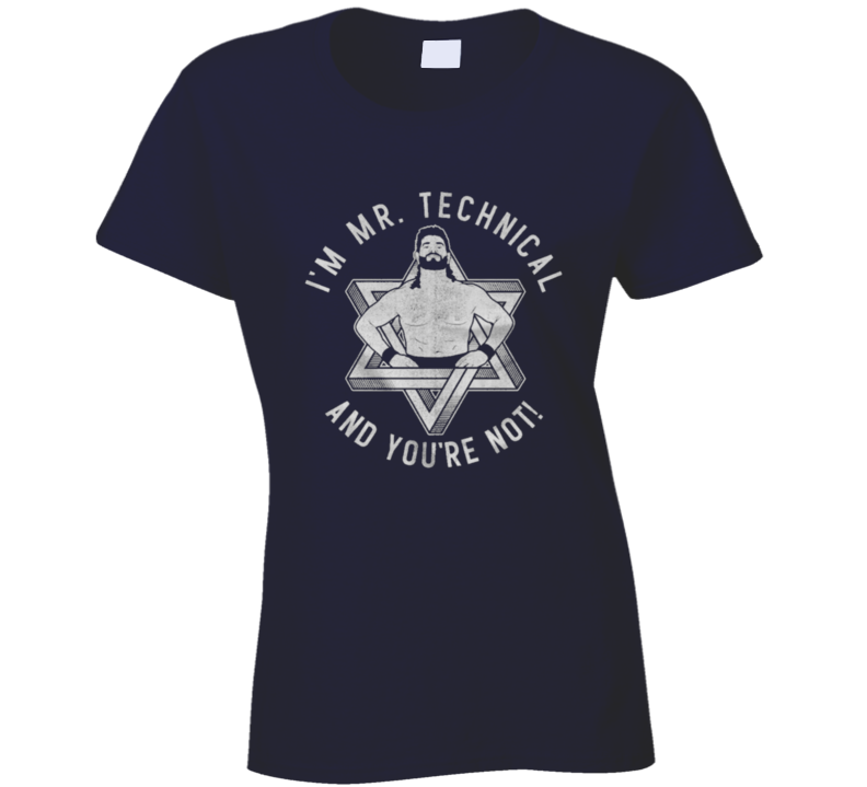 Mr. Technical Barry Horowitz Ladies T Shirt